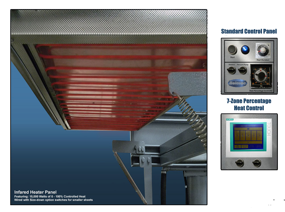 Belovac Industries infrared heater